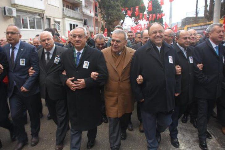 Devrim şehidi Kubilay için 2 tören