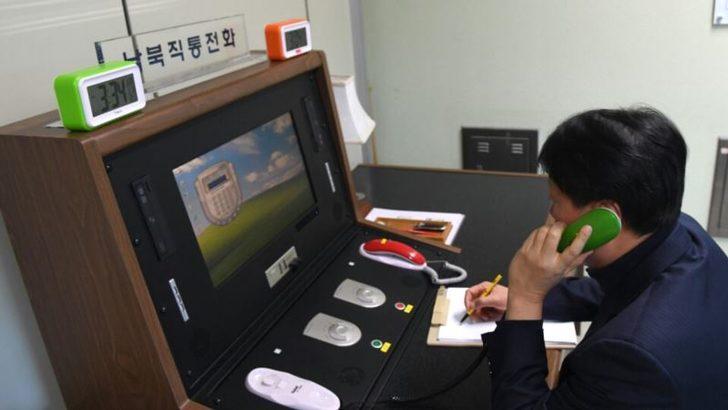 Kuzey ve Güney Kore Sınırdaki Acil İletişim Hattını Açıyor