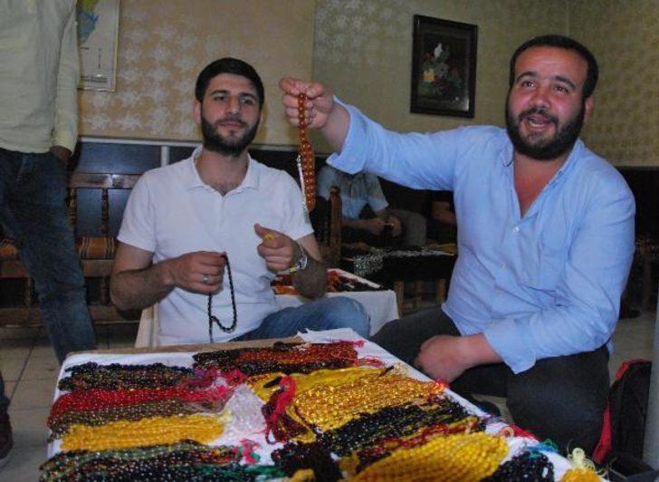 Diyarbakır'da tespih borsası