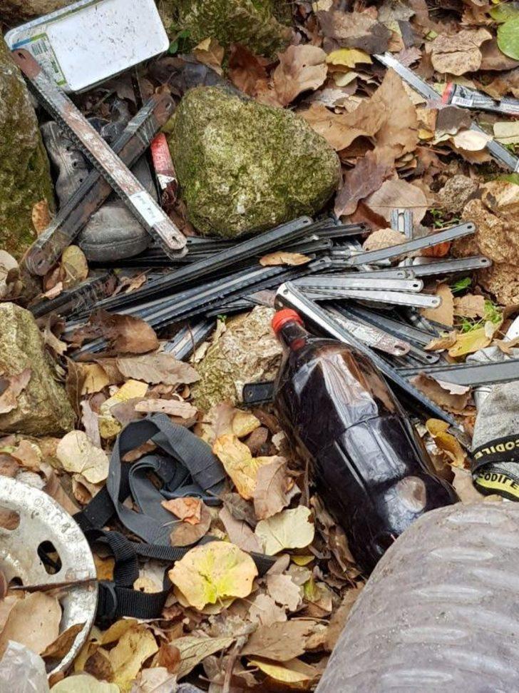 Dargeçit'te teröristlerin gösterdiği sığınaklarda patlayıcı ve yaşam malzemeleri bulundu
