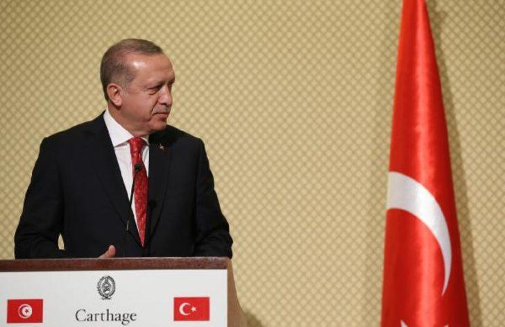 Erdoğan: Özel sektörümüzü Tunus'a daha fazla yatırım yapmaya teşvik edeceğiz