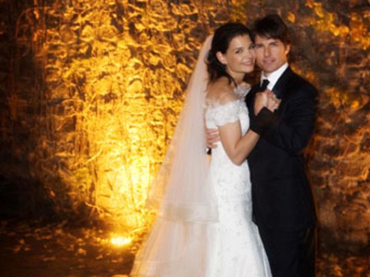 2006'nın en romantik olayı Tom Cruise'un düğünü