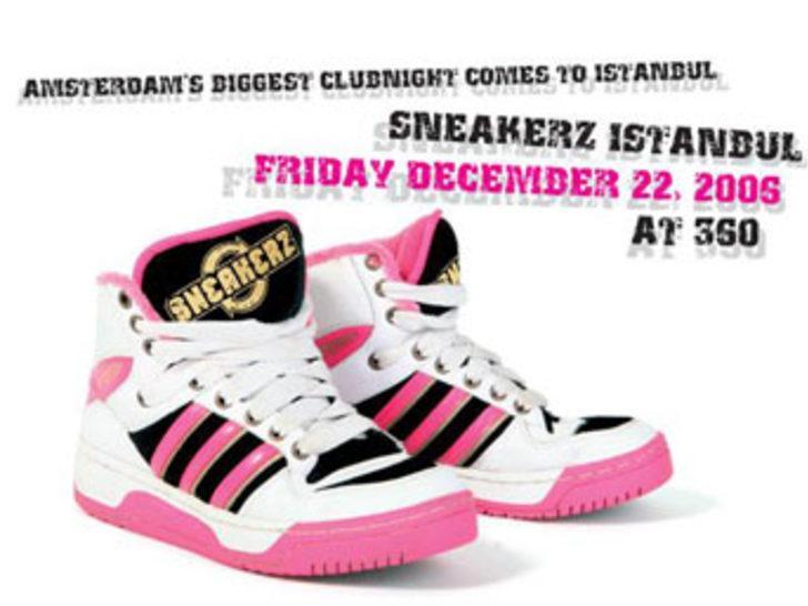 Amsterdam'ın ünlü parti konsepti Sneakerz İstanbul'da