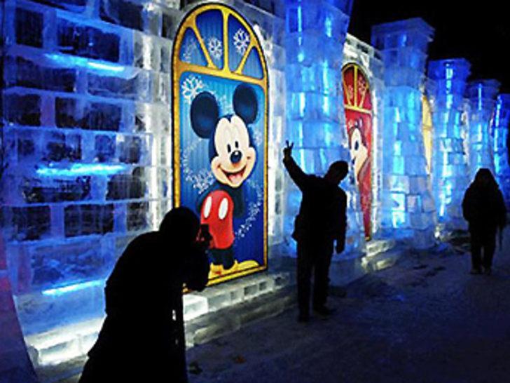 Bu da Çin'in Disneyland'ı!