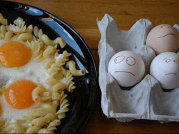 Çılgın yumurtalar güldürüyor
