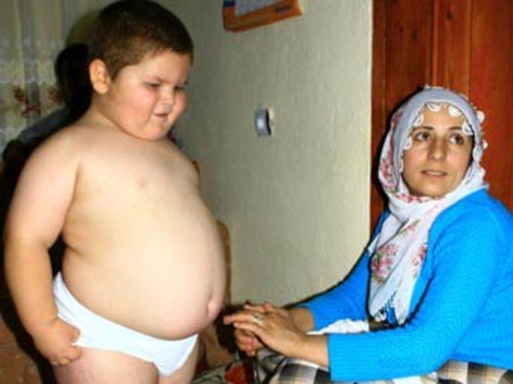 5 yaşındaki çocuk 46 kiloya ulaştı