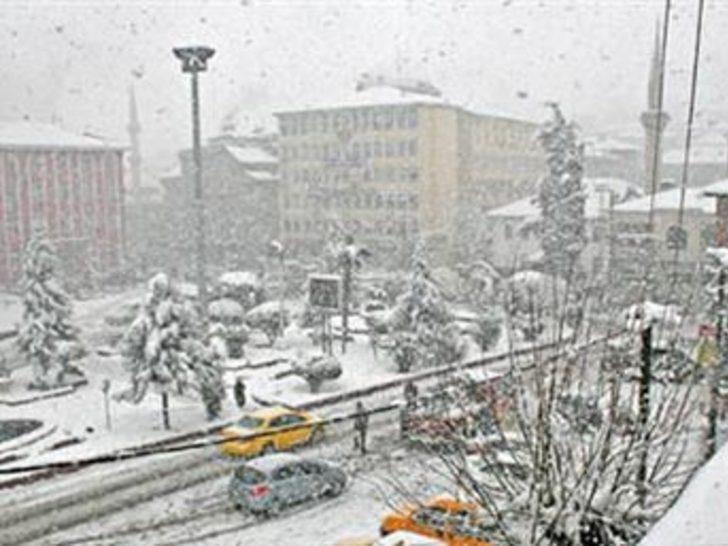 Kar, Trakya'da etkisini gösterdi