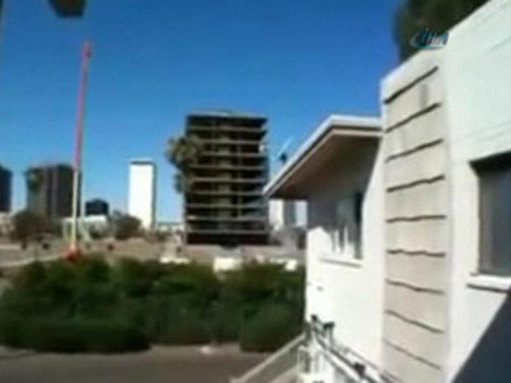 7'lik deprem saniye saniye görüntülendi