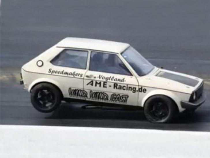 1000 beygirlik Volkswagen Polo