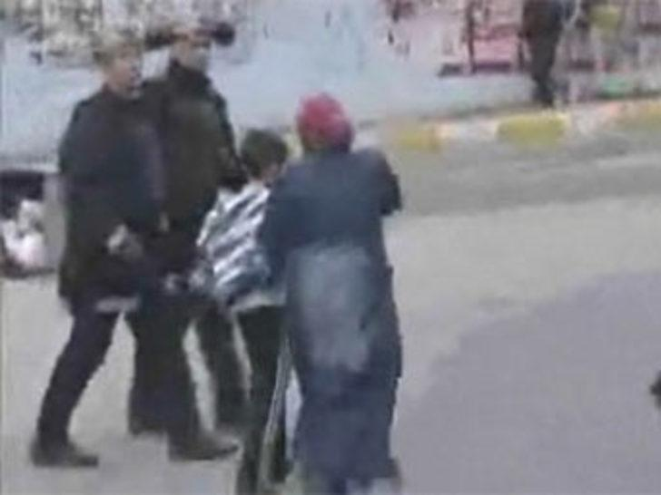 Anneden polise: Oğlumu da dövün