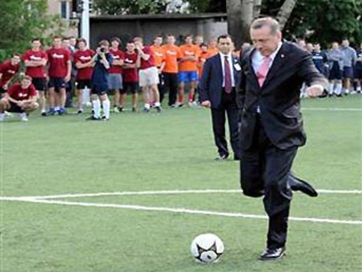 Erdoğan'dan futbola dev destek