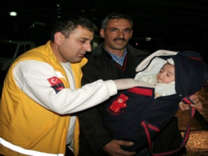 3 aylık bebek 6 kardeşini kurtardı