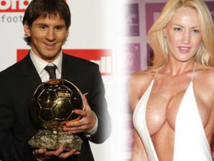 İşte Messi'nin sevgilisi!