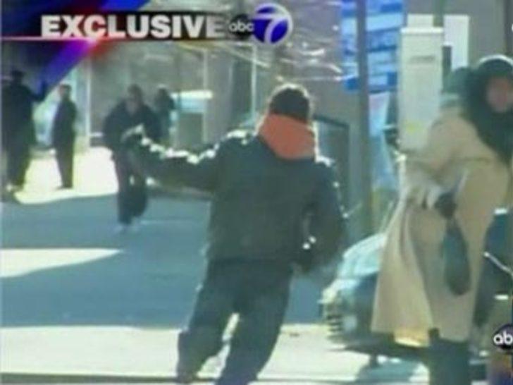 Hırsız polislerin elinden böyle kaçtı