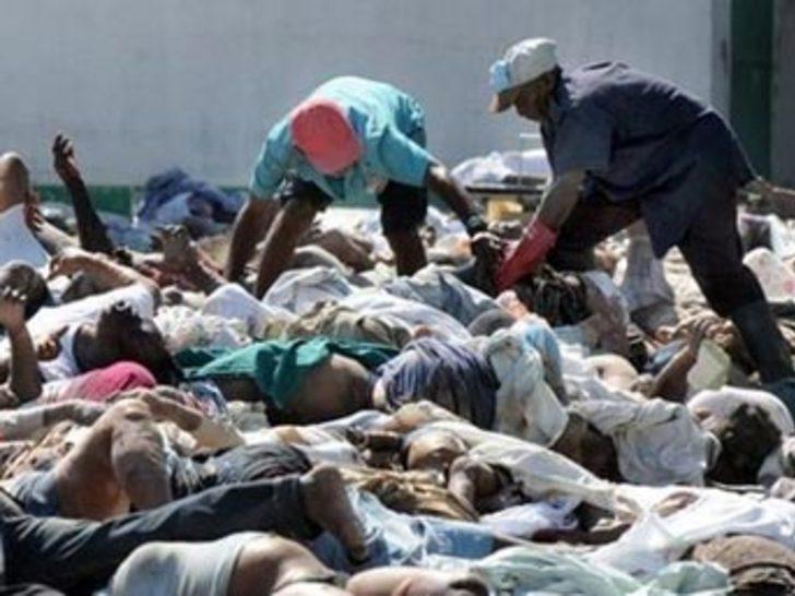 Haiti sokakları cesetlerle doldu