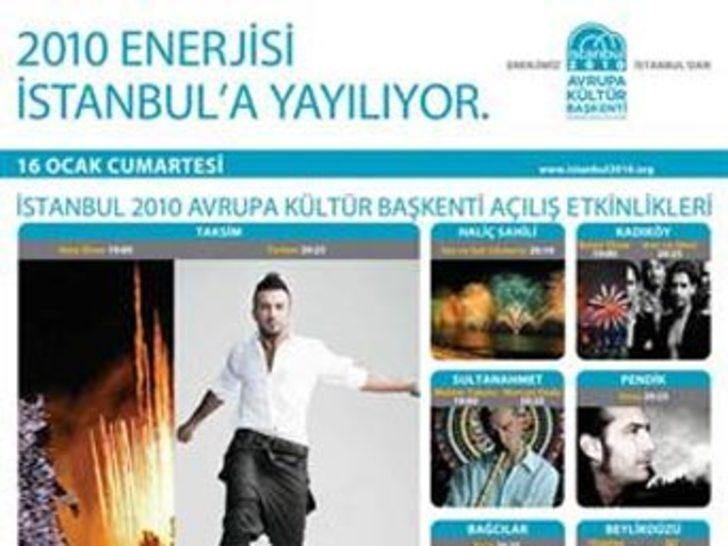 İstanbul'da şenlik başladı