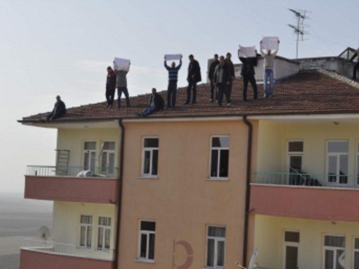 Kooperatif mağdurlarından intihar eylemi