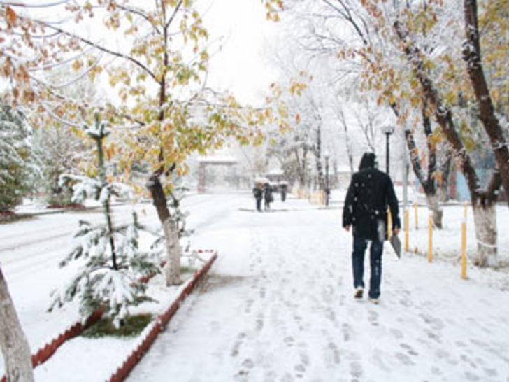 İstanbul'a bugün kar geliyor