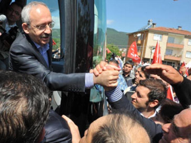 Kılıçdaroğlu'nun mitinginde gerginlik