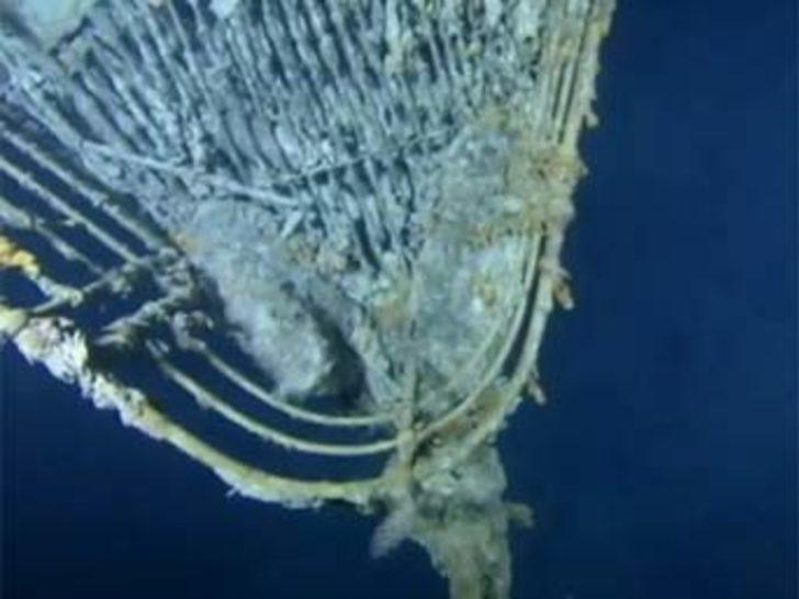 Titanic'in hiç yayınlanmamış görüntüleri