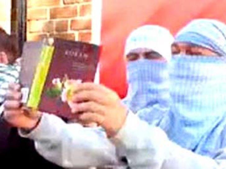 Kur'an-ı Kerim yakan 6 kişi gözaltında!
