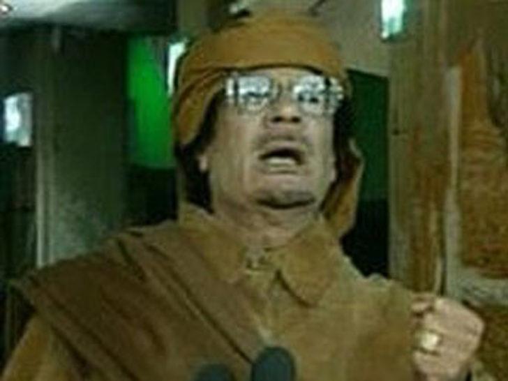 Kaddafi'nin çılgın planı