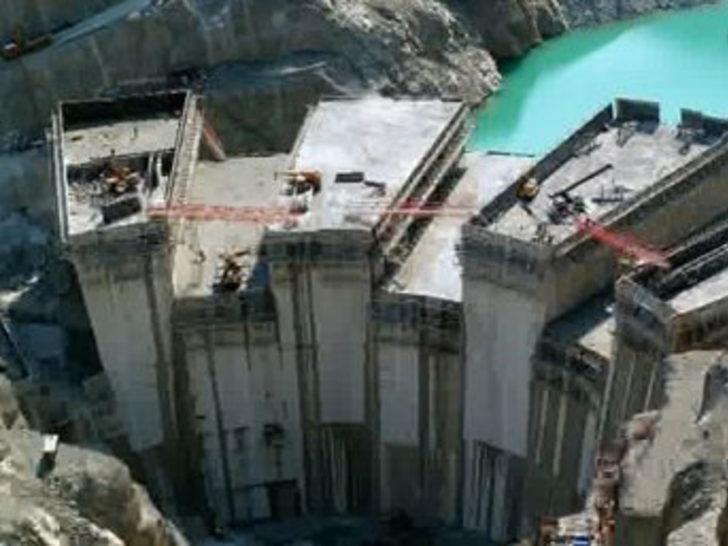 Deriner Barajı mühendislik harikası
