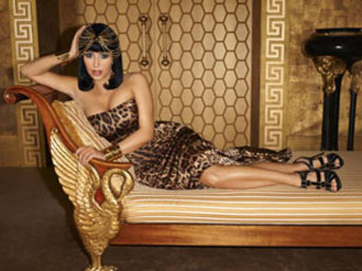 Bu kez de Kleopatra oldu!