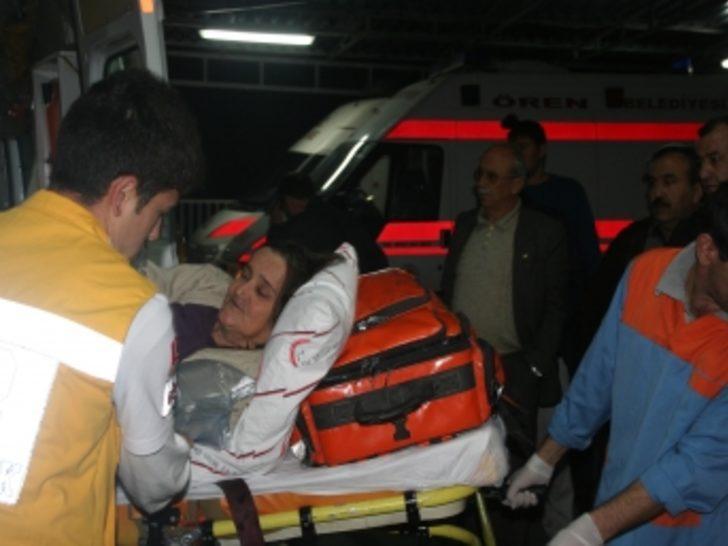 Diyaliz aracı kaza yaptı: 2 ölü, 6 yaralı