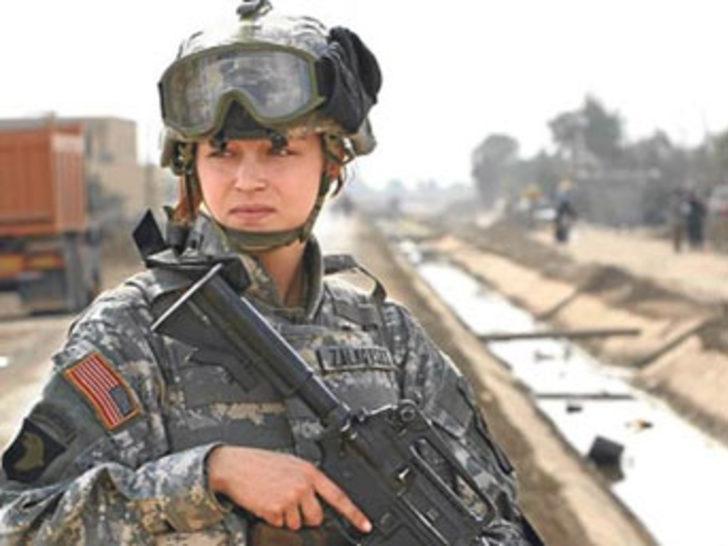 Kadın askerlerin tecavüz isyanı