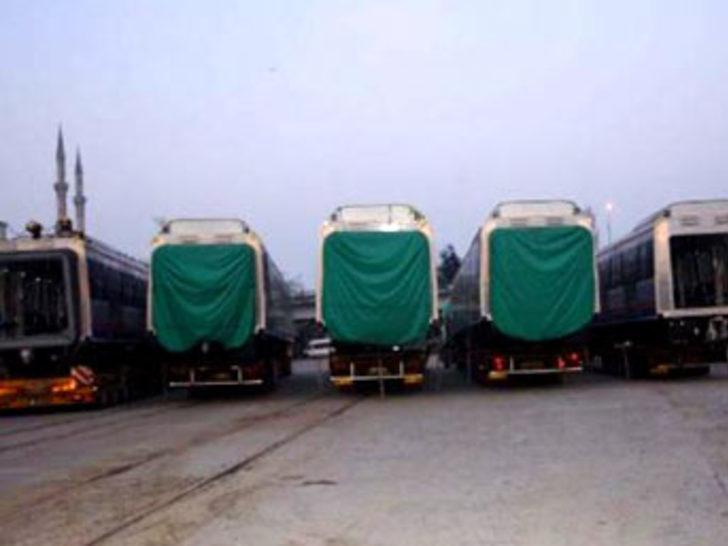 Marmaray'ın ilk vagonları İstanbul'a geldi