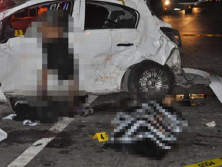 Tekirdağ'da trafik kazası: 3 ölü, 2 yaralı!