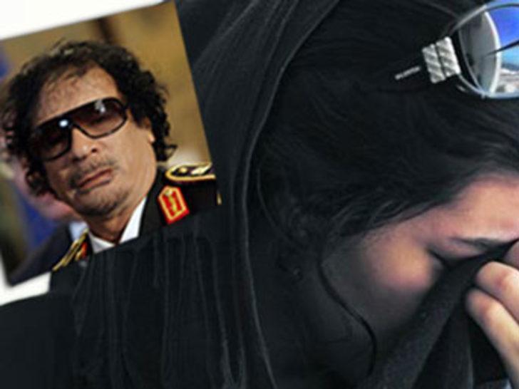 Kaddafi'nin seks köleleri