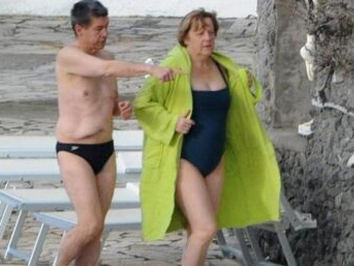 Angela merkel bikini