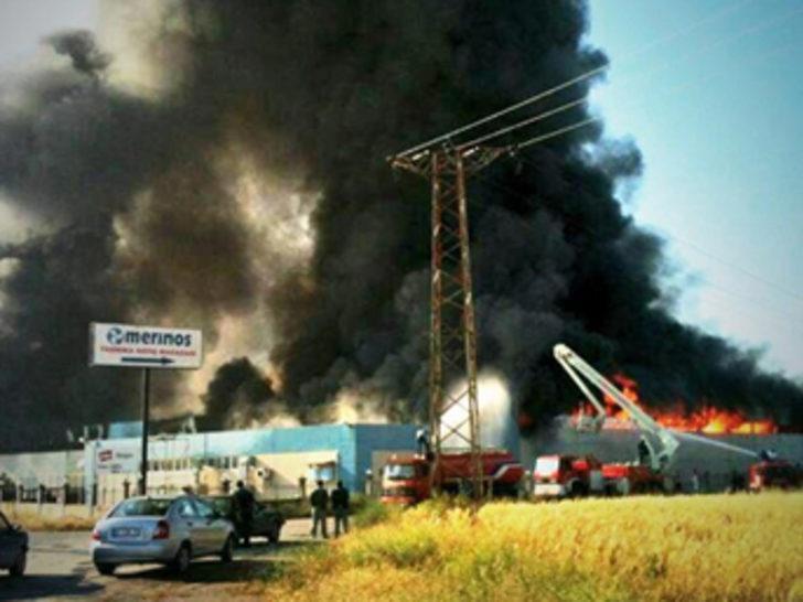 İzmir'de büyük yangın
