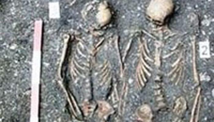 Ölümsüz aşıkların mezarı bulundu