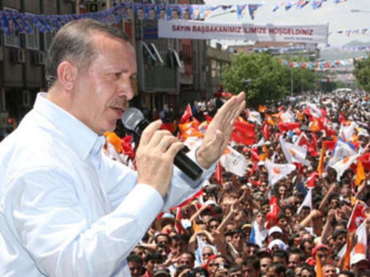 Samsun'da 'Milli iradeye saygı' mitingi