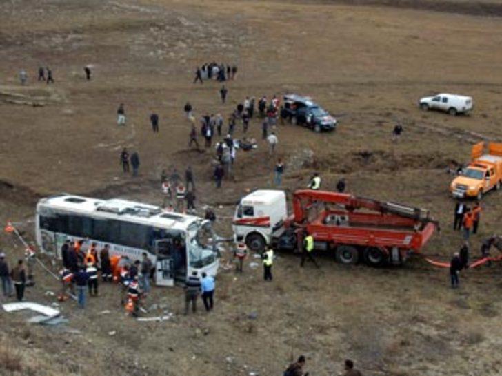 Erzurum'da trafik kazası: 7 ölü