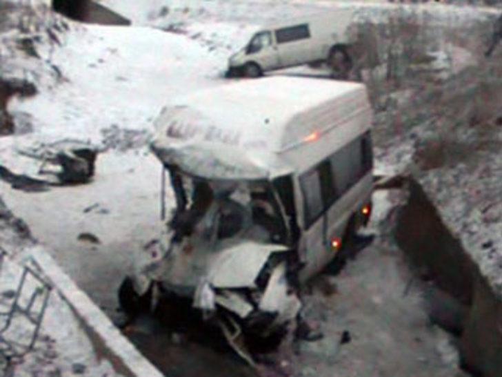 Ağrı'da trafik kazası: 5 ölü, 7 yaralı