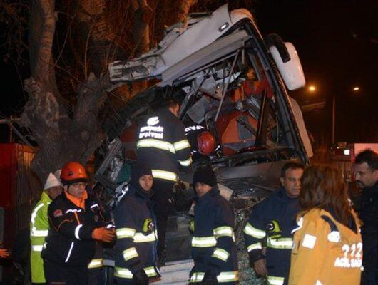 Son dakika! Eskişehir'de otobüs kazası: Çok sayıda ölü ve yaralı var