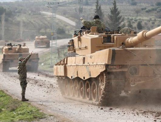 Son Dakika: Afrin'e kara harekatı başladı! Özel Kuvvetler ve komandolar Suriye'de