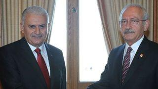 Başbakan ile Kılıçdaroğlu Afrin'i görüşecek