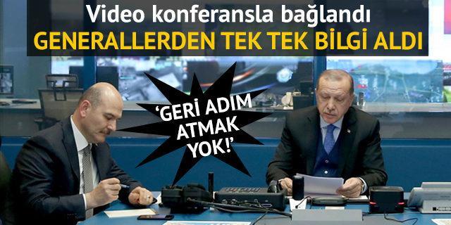 Erdoğan operasyonu böyle takip etti