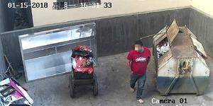 Vicdansız! Yeni doğan bebeğini çöpe attı o anlar güvenlik kameralarına böyle yakalandı