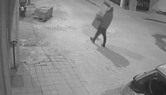 Harçlığı az bulan evlat, babasının dükkanını soydu