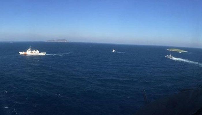 Kardak'ta gerilim! Yunanistan Savunma Bakanı yaklaştırılmadı