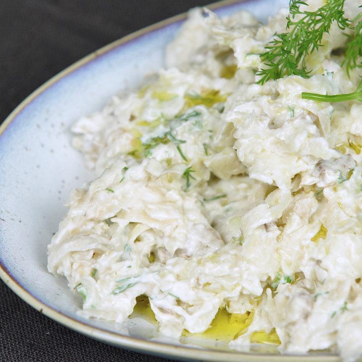 Yemeğe Hafif Bir Dokunuş: Elmalı Kereviz Salatası