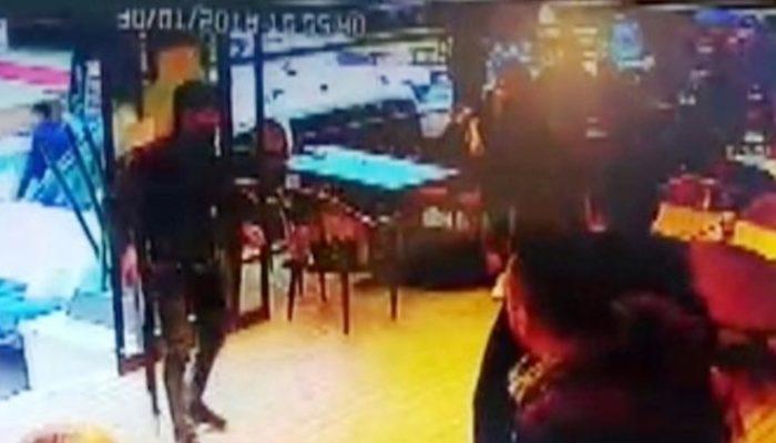 Konya'da dehşet anları! Pompalı tüfekle kafeyi bastılar