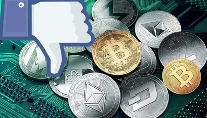 Facebook ve Instagram'da bitcoin yasağı!