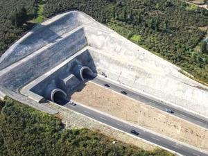 Yeni Zigana Tüneli'nin yüzde 61'i tamamlandı